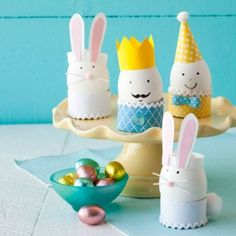 0414 Friendly Faces Easter Eggs | 22 New, Fun and Easy Easter Egg Ideas | AllYou.com Mobile