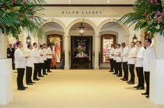 An elegant cocktail event to celebrate the first luxury Ralph Lauren store in Sāo Paulo, Brazil