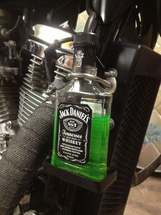 Jack Daniels overflow bottle