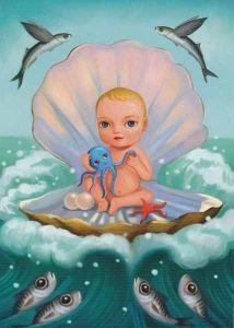 €0.80 Lapsi simpukassa Princess Peach, Disney Princess, Illustrations, Tinkerbell, Disney Characters, Fictional Characters, Art, Art Background, Kunst