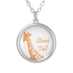 Stand Tall #giraffe #safari #zoo #africa #wildlife #standtall #necklace