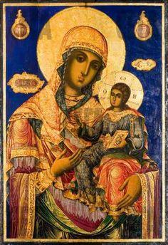 Virgin with Child, Zahariy Hristovich Dimitrov, Bulgarian