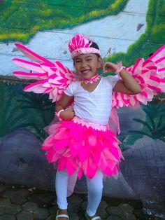 Pinky bird coustume