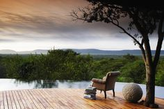 Molori Safari Lodge, Madikwe Game Reserve, South Africa  Best View: Metsi Presidential Suite