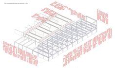 Arturo Soria Hall of Fame - axonométrica Architecture