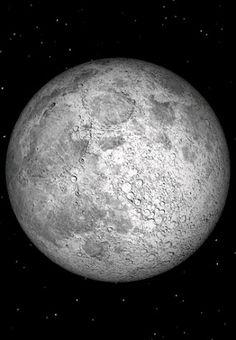 Full Moon over Brooklyn, NY, Jan. 8, 2012.