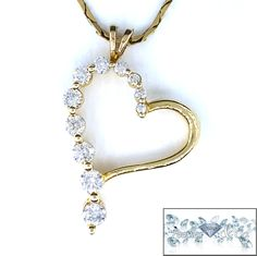 Cut:Round Brilliant   Carat:.95   Color:H   Clarity:SI2   Grams:7.2  Metal Purity:14Karat Yellow Gold      Type:Pendant/Chain  Price:$2,100.00   100% Natural earth mined diamond I do not sell enhanced diamonds  Ships out in an elegant jewelry box for your pleasure