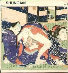 Utagawa Kunimasu: Couple - Asian Collection Internet Auction