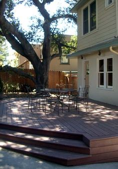 Deck idea for front of house