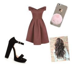 """Untitled #33"" by larissa-jordane on Polyvore featuring Chi Chi"