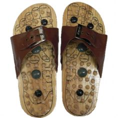 458b7b9e4c5 Reflexology Sandals (reflexology shoes) - often used in Asian cultures to  activate pressure points in the foot.