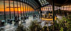 Buy tickets for Rooftop Cocktails & DJ Nights at Sky Garden London. Tickets and Information for Rooftop Cocktails & DJ Nights Various dates in London London Rooftop Bar, Best Rooftop Bars, London Sky Garden, Walks In London, Sky Bar, London Attractions, Public Garden, Rooftop Garden, Rooftop Party