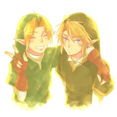 OOT Link and TP Link