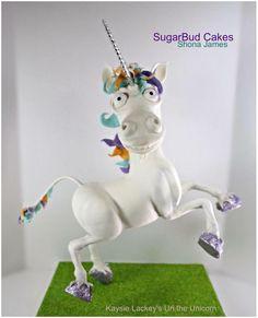 Edible Art. Silly Unicorn Cake. | SugarBud Cakes