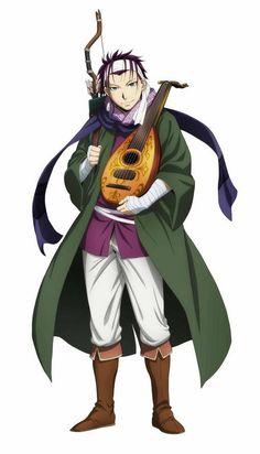 Kenn (Akihito Kanbara in Kyoukai no Kanata) who will voice Gieve