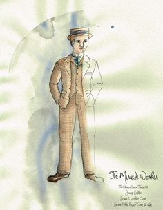 The Miracle Worker (James Keller). Costume design by Joscelyne Oktabetz. The Miracle Worker, Costume Design, Theatre, Opera, Costumes, Brown, Inspiration, Dibujo, Biblical Inspiration