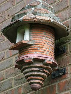 Brick Birdhouse...now that should be around for the Birdies for quite sometime :))