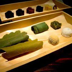 Higashiya - famous confectionery & tea shop in Tokyo