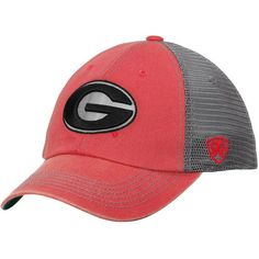 Georgia Bulldogs Top of the World Mortar Trucker Hat - Red/Charcoal - $22.99