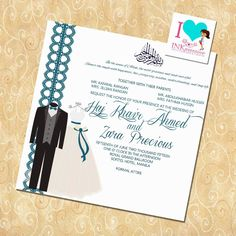Wedding Invitation Wording Invitations Templates Muslim