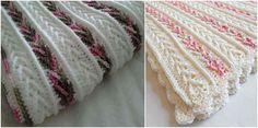 Crochet Afghan with Arrow Stitch [Free Pattern] - STYLESIDEA