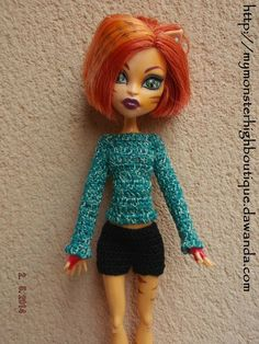 Ropa para Monster High s335 de My Monster High Boutique por DaWanda.com