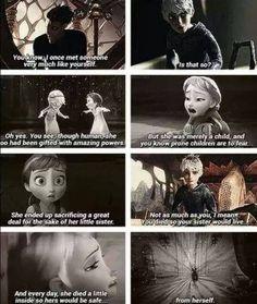 DreamWorks & Disney crossover | Elsa & Jack Frost