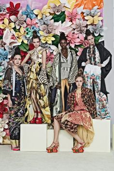 Flowers Of The North Editorial for Elle Sweden  Publication: Elle Sweden February 2013 Models: Frida Gustavsson, Moa Åberg, Hedvig Palm, Theres Alexandersson, Madelen De La Motte, Ellinore Erichsen, Karin Hansson and Mabintou Ceesay Clothes: Prada, D, Haider Ackermann Photographer: Carl Bengtsson Stylists: Jenny Fredriksson, Lisa Lindqwister, and Cia Jansson
