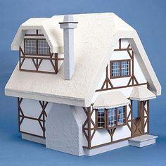 Aster Cottage Dollhouse Kit