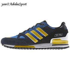 Adidas Originals ZX 750 man sports Bluebird/legend ink/black shoes HOT SALE! HOT PRICE!