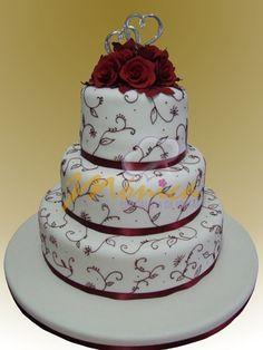 TORTAS MÓNICA :: Especialistas en Tortas Cakes And More, No Bake Cake, Ideas Para, Wedding Cakes, Muffins, Cupcakes, Baking, Sweet, Desserts
