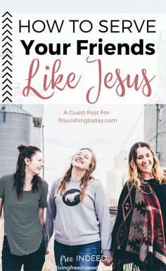 Christ always sets the perfect example for us, and friendship is no exception! In giving His life for us, Jesus became our friend and gave us a blueprint for being the same for others. | How to Be a Good Friend | Jesus is Our Friend | Following Christ | How to Be Like Jesus | What Was Jesus Like | Who is Jesus | True Friendship