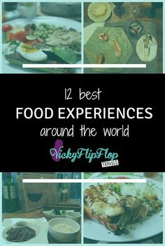 The best thing about travelling is obviously the food you get to try. Here are my my favourite food experiences from my 2015 travels. http://vickyflipfloptravels.com/best-food-experiences/