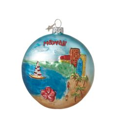 81 best Hawaiian Christmas Trees & Ornaments images on Pinterest ...