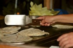 """Easy Chicken Quesadillas: When DS's den were Webelos, one of our den members was a vegetarian. This made camp cooking a little more interesting. The other den members wanted the boy to be fully included, but they weren't willing to give up meat themselves. So when we went camping we used """"meat optional"""" recipes."""