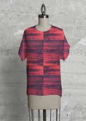 Scarlet Royal Flush: Modern TEE from Kim Hansen's new VIDA 'Scarlet/Crimson' Collection.