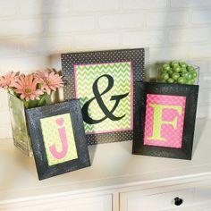 Monogram Frames - OrientalTrading.com