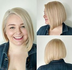 2018 Stylish & Sassy Bobs for Round Faces