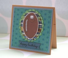 Rugby Gift Card Holder Birthday Have a Ball by CraftyMushroomCards, £2.00