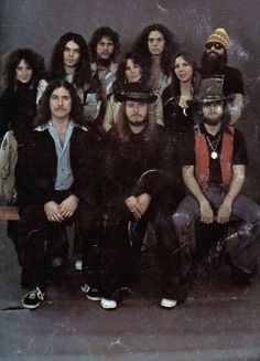 .My favorite band...the original Lynyrd Skynyrd.  The modern one, by becoming P.C., is a pale, pale imitation.