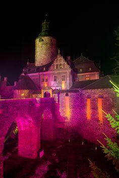 illuminated ... Czocha Castle