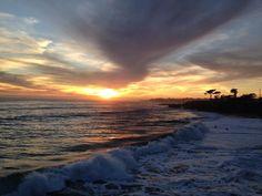 Santa Cruz CA: #santacruz #california #sunset by chroniclesofkatie
