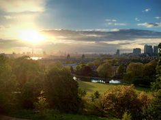 Greenwich Park at Sunset | Flickr - Photo Sharing!