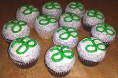 Arbonne cupcakes for an Arbonne party!