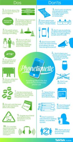The Golden Rules of Modern Day Phone Etiquette