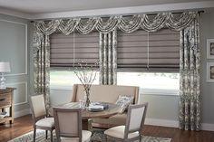 Graber Blinds Roman Shades with Cordless Lift: Regal, Platinum 3237