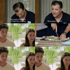 Mako Mermaids - Zac, Evie and Doug