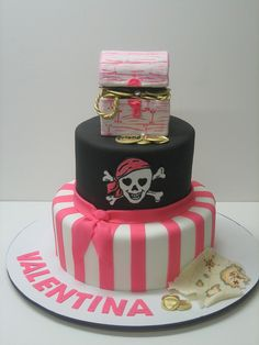 Girl Pirate by LovelyCakes.net, via Flickr
