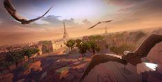 """Fliege durch Paris! - Willst du in den Himmel von Paris abheben? Das Virtual-Reality-Spiel """"Eagle Flight"""" macht es möglich."""