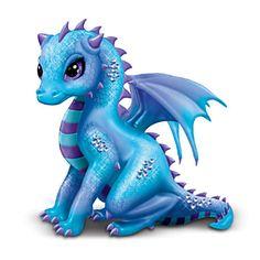 "Jasmine's Jeweled Protectors - Dragon ""Amethyst"" Figurine"